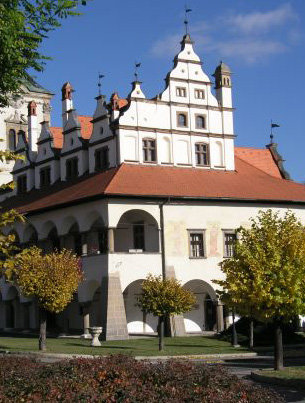 Renaissance townhall in Levoca