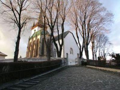 Spissky Stvrtok - church