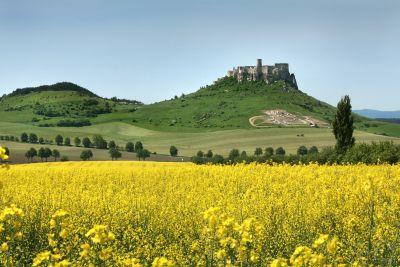 Spišský hrad - geoglyf