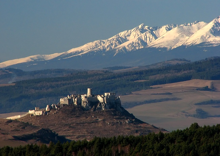 Spišský hrad a Levočské vrchy