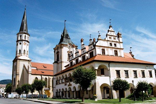 Levoča - jedno z miest Unesco na Slovensku