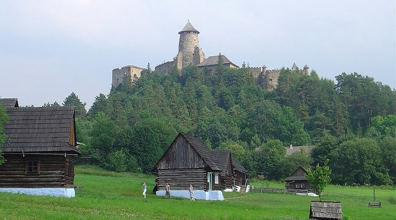 Skazen pod Ľubovnianskym hradom - foto